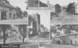 Bolton By Bowland, Composite c.1950, Bolton-By-Bowland