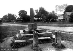 Bolton By Bowland, Cross And Stocks 1921, Bolton-By-Bowland