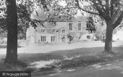 Bolton By Bowland, Old Courthouse c.1955, Bolton-By-Bowland
