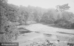 Bolton By Bowland, On The Wharfe 1886, Bolton-By-Bowland