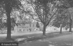 Bolton By Bowland, School Green And Old Courthouse c.1955, Bolton-By-Bowland
