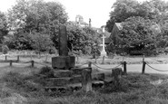 Bolton By Bowland, Stocks And War Memorial c.1950