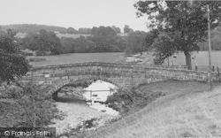 Bolton By Bowland, The Bridge c.1955, Bolton-By-Bowland