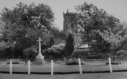 Bolton By Bowland, The Church And Memorial c.1960