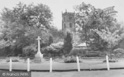 Bolton By Bowland, The Church And Memorial c.1960, Bolton-By-Bowland