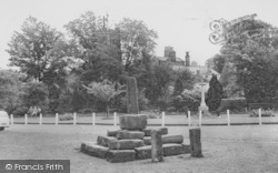 Bolton By Bowland, The Cross And Memorial c.1960, Bolton-By-Bowland