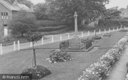Bolton By Bowland, The Memorial And Gardens c.1955, Bolton-By-Bowland