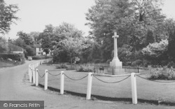 Bolton By Bowland, The Memorial c.1960, Bolton-By-Bowland