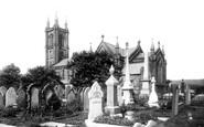 Bolton, Halliwell, St Peter's Church 1898
