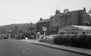 Bolton-Le-Sands, Central Garage On The A6 c.1960