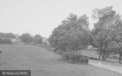 Bolton-Le-Sands, From Kellet Lane c.1960