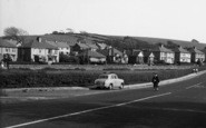 Bolton-Le-Sands, Houses Along Main Road c.1960