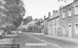 Bolton-Le-Sands, Main Road c.1960