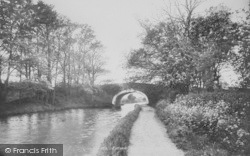 Bolton-Le-Sands, On The Canal 1898