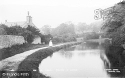 Bolton-Le-Sands, On The Canal c.1910