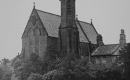 Bolton-Le-Sands, St Mary Of The Angels Rc Church c.1955