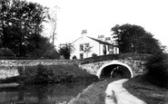 Bolton-Le-Sands, The Canal 1898