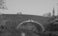 Bolton-Le-Sands, The Canal Bridge c.1960