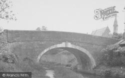 Bolton-Le-Sands, The Canal Bridge c.1960