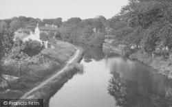 Bolton-Le-Sands, The Canal c.1960