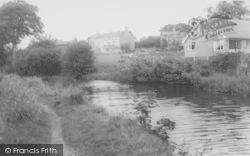 Bolton-Le-Sands, The Canal c.1965