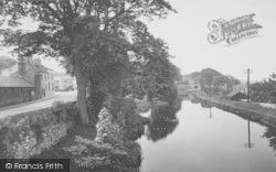 Bolton-Le-Sands, The Packet Bridge c.1960