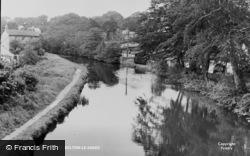 Bolton-Le-Sands, The River c.1955