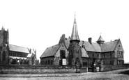 Bolton, Parish Church And Church Institute 1893