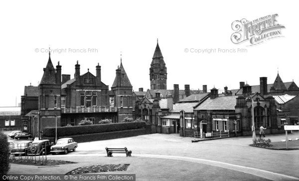 Bolton, the Royal Infirmary c1955