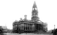 Bolton, Town Hall 1893