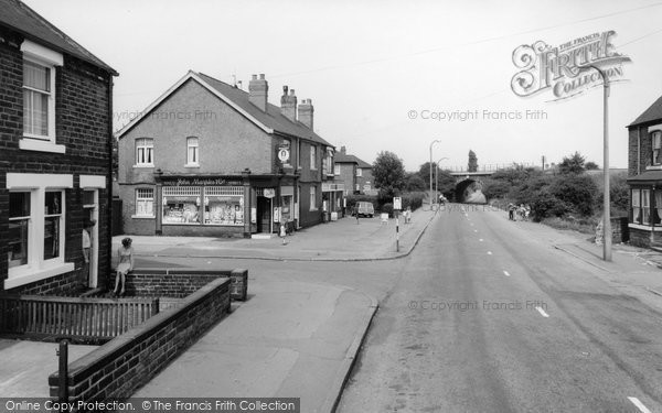 Bolton Upon Dearne, Furlong Road c.1960