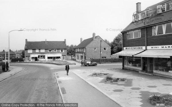 Bolton Upon Dearne, Shopping Centre c.1960