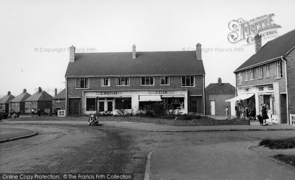 Bolton Upon Dearne, St Andrew's Square c.1955