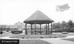 Bolton-Upon-Dearne, The Bandstand c.1955