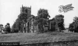 Bolton-Upon-Dearne, The Parish Church c.1960