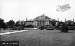 Bolton-Upon-Dearne, Welfare Hall c.1955