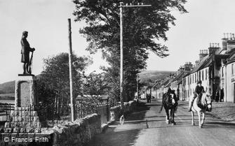 Bonar Bridge, War Memorial c1929