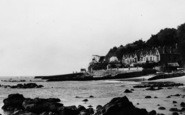 Bonchurch, East Dene Beach c.1955