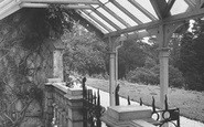 Bonchurch, East Dene, Entrance To Covered Way c.1955