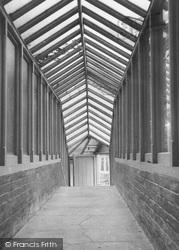 Bonchurch, East Dene, The Covered Way c.1955