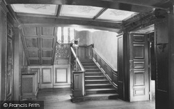 Bonchurch, East Dene, The Staircase c.1955
