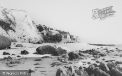 Bonchurch, Horseshoe Bay c.1955