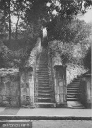 Bonchurch, Jacob's Ladder c.1955