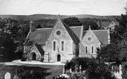 Bonchurch, St Boniface New Church c.1876