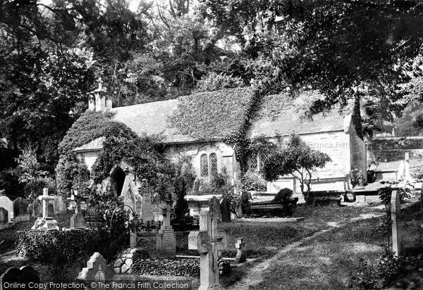 Bonchurch, St Boniface Old Church 1890