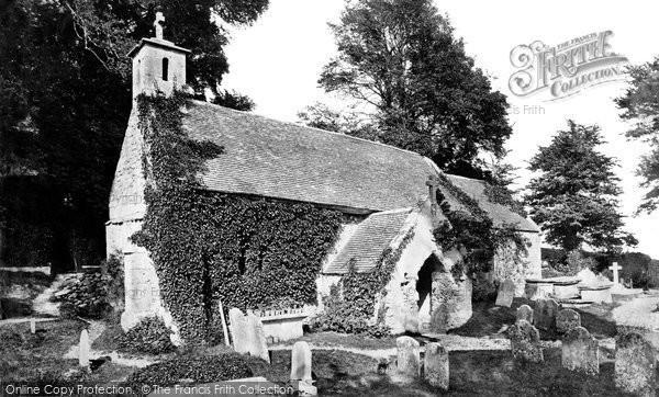 Bonchurch, St Boniface Old Church c.1876