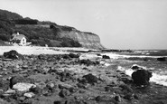 Bonchurch, The Beach c.1955