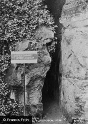 Bonchurch, The Devil's Chimney c.1960