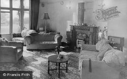 Bonchurch, The Grange Private Hotel Lounge c.1955