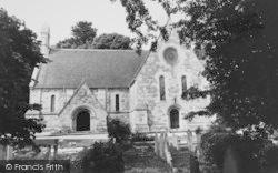 Bonchurch, The New Church c.1960